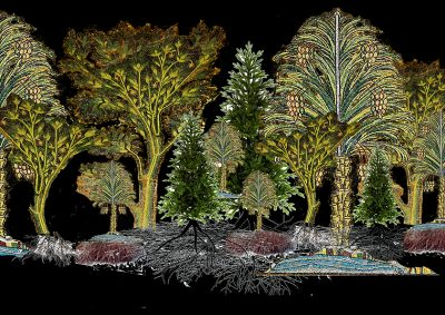 Ultimate Living: largetrees in colour
