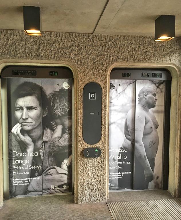 Barbican exhibitions of Dorothea Lange and Vanessa Winship 2018